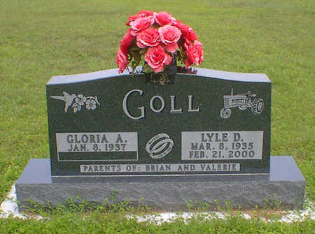 GOLL, LYLE D - Hancock County, Iowa | LYLE D GOLL