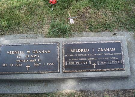 SCHAEFER GRAHAM, MILDRED I - Hancock County, Iowa | MILDRED I SCHAEFER GRAHAM