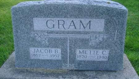 GRAM, METTE C - Hancock County, Iowa | METTE C GRAM