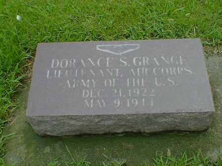GRANGE, DORANCE S - Hancock County, Iowa   DORANCE S GRANGE
