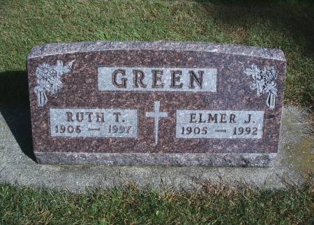 GREEN, RUTH T - Hancock County, Iowa | RUTH T GREEN