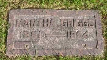 GRIGGS, MARTHA - Hancock County, Iowa | MARTHA GRIGGS