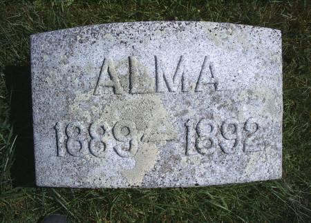 GRUETZMACHER, ALMA - Hancock County, Iowa | ALMA GRUETZMACHER