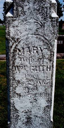 GUTH, MARY - Hancock County, Iowa | MARY GUTH