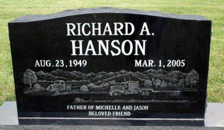 HANSON, RICHARD A - Hancock County, Iowa | RICHARD A HANSON