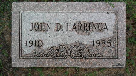 HARRINGA, JOHN D - Hancock County, Iowa | JOHN D HARRINGA