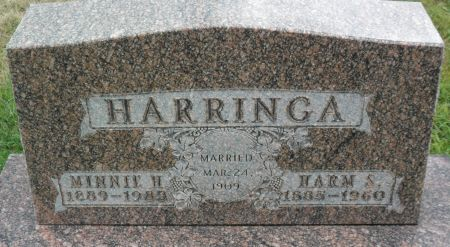 SENNE HARRINGA, MINNIE H - Hancock County, Iowa | MINNIE H SENNE HARRINGA