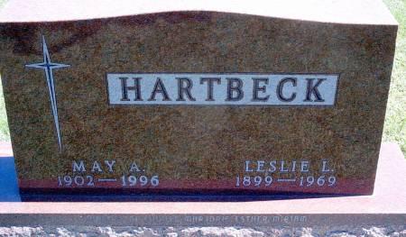 HARTBECK, MAY A - Hancock County, Iowa | MAY A HARTBECK