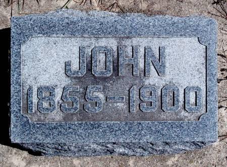 HARTBECKE, JOHN - Hancock County, Iowa | JOHN HARTBECKE