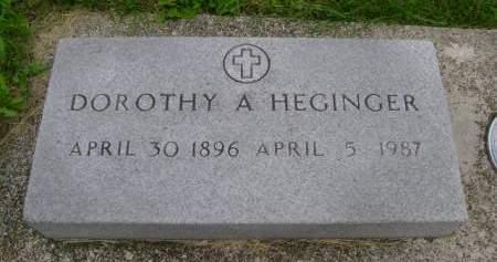 HEGINGER, DOROTHY A - Hancock County, Iowa | DOROTHY A HEGINGER