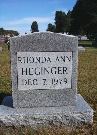 HEGINGER, RHONDA A - Hancock County, Iowa | RHONDA A HEGINGER