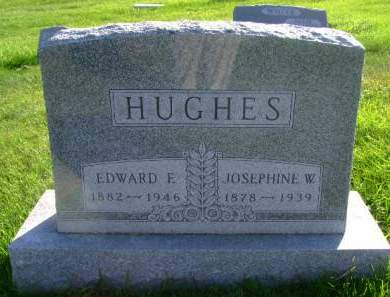 HUGHES, EDWARD F - Hancock County, Iowa | EDWARD F HUGHES