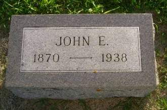HUGHES, JOHN E - Hancock County, Iowa | JOHN E HUGHES
