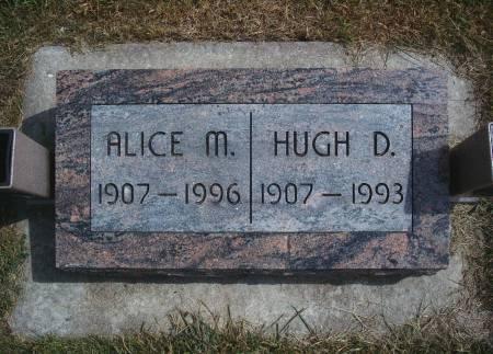 JOHNSON HUMMEL, ALICE M - Hancock County, Iowa | ALICE M JOHNSON HUMMEL