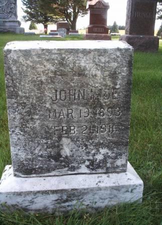 IHDE, JOHN - Hancock County, Iowa | JOHN IHDE