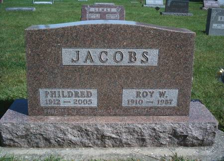 JACOBS, PHILDRED - Hancock County, Iowa | PHILDRED JACOBS