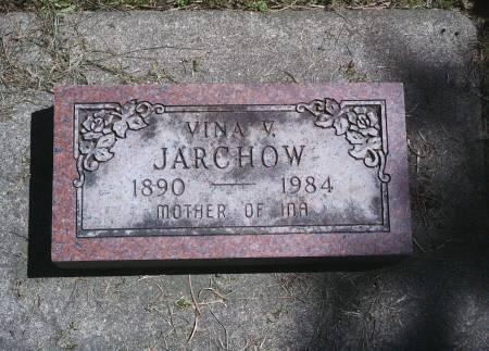 JARCHOW, VINA V - Hancock County, Iowa | VINA V JARCHOW