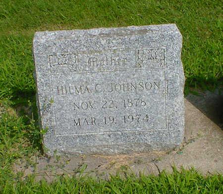 JOHNSON, HILMA C - Hancock County, Iowa | HILMA C JOHNSON