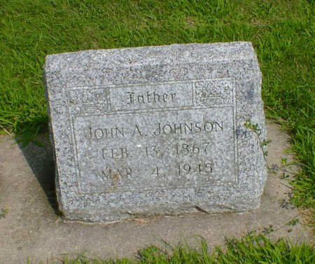 JOHNSON, JOHN A. - Hancock County, Iowa | JOHN A. JOHNSON