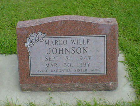 WILLE JOHNSON, MARGO - Hancock County, Iowa | MARGO WILLE JOHNSON