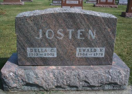 JOSTEN, EWALD V - Hancock County, Iowa | EWALD V JOSTEN