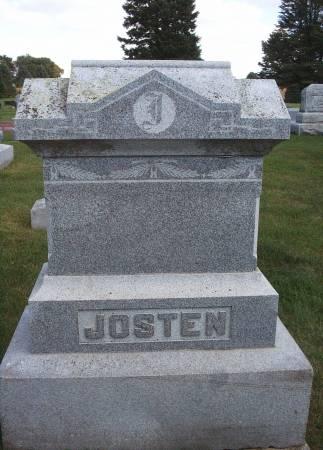 JOSTEN, FAMILY MONUMENT - Hancock County, Iowa | FAMILY MONUMENT JOSTEN