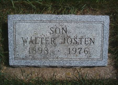 JOSTEN, WALTER - Hancock County, Iowa | WALTER JOSTEN