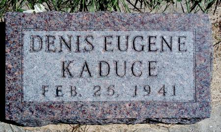 KADUCE, DENIS E - Hancock County, Iowa | DENIS E KADUCE
