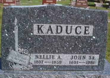 KADUCE, JOHN SR - Hancock County, Iowa   JOHN SR KADUCE