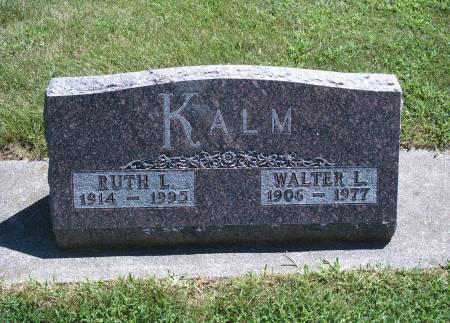 KALM, WALTER L - Hancock County, Iowa | WALTER L KALM