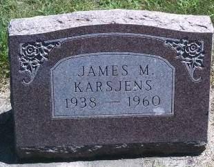 KARSJENS, JAMES M - Hancock County, Iowa | JAMES M KARSJENS