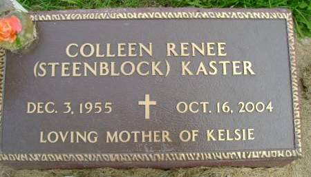 STEENBLOCK KASTER, COLLEEN R - Hancock County, Iowa | COLLEEN R STEENBLOCK KASTER