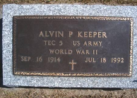 KEEPER, ALVIN P - Hancock County, Iowa | ALVIN P KEEPER