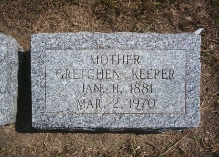 TECHANT KEEPER, GRETCHEN - Hancock County, Iowa | GRETCHEN TECHANT KEEPER