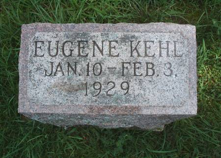 KEHL, EUGENE - Hancock County, Iowa | EUGENE KEHL