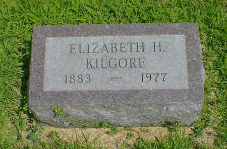 KILGORE, ELIZABETH H - Hancock County, Iowa | ELIZABETH H KILGORE