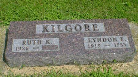 KILGORE, LYNDON E - Hancock County, Iowa   LYNDON E KILGORE