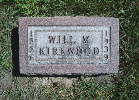 KIRKWOOD, WILL M - Hancock County, Iowa | WILL M KIRKWOOD
