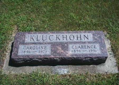 KLUCKHOHN, CLARENCE - Hancock County, Iowa | CLARENCE KLUCKHOHN