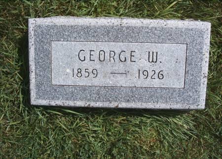 KLUCKHOHN, GEORGE W - Hancock County, Iowa | GEORGE W KLUCKHOHN