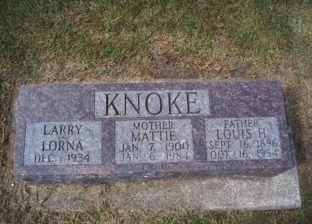 KNOKE, LARRY - Hancock County, Iowa | LARRY KNOKE