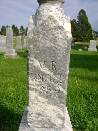 KNOLL, V R - Hancock County, Iowa | V R KNOLL
