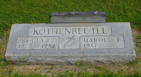 KOTHENBEUTEL, BETTY J - Hancock County, Iowa   BETTY J KOTHENBEUTEL