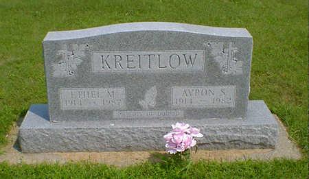 KREITLOW, AVRON S - Hancock County, Iowa   AVRON S KREITLOW