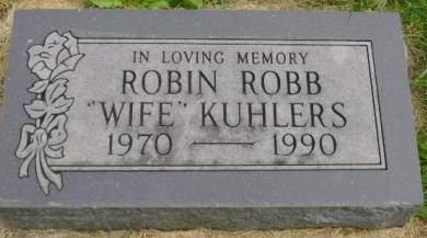 KUHLERS, ROBIN - Hancock County, Iowa | ROBIN KUHLERS