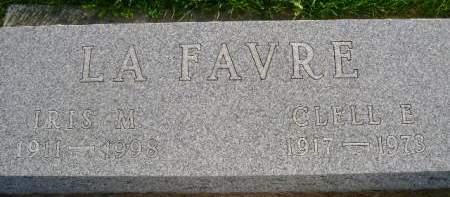LA FAVRE, IRIS M - Hancock County, Iowa | IRIS M LA FAVRE