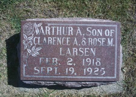 LARSEN, ARTHUR A - Hancock County, Iowa | ARTHUR A LARSEN