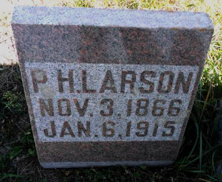 LARSON, PETER H - Hancock County, Iowa | PETER H LARSON