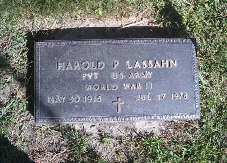 LASSAHN, HAROLD P - Hancock County, Iowa | HAROLD P LASSAHN