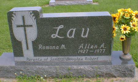 LAU, ALLEN A - Hancock County, Iowa | ALLEN A LAU